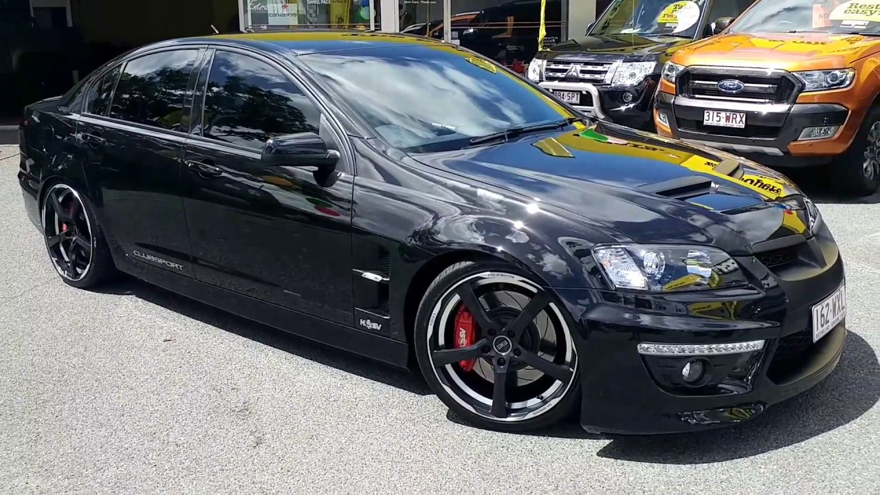 2011 HSV Clubsport Supercharged and Built by Tekno - YouTube