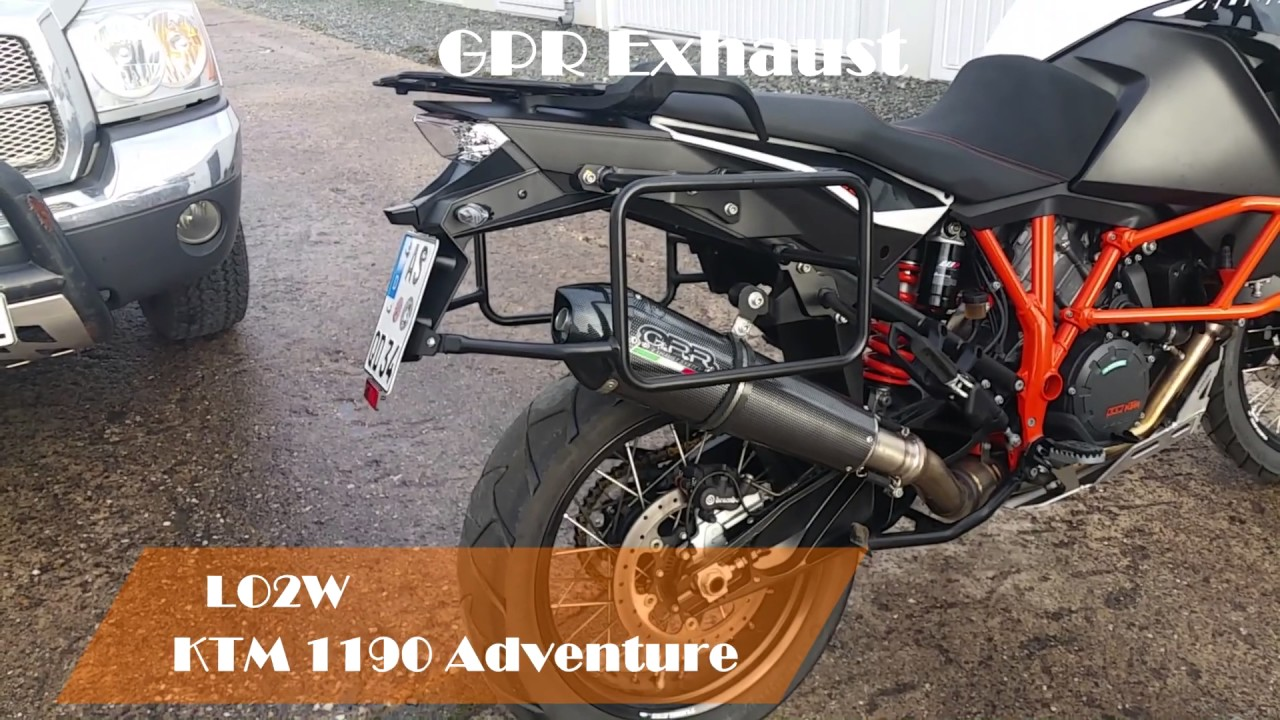 Ktm Adventure Arrow Exhaust