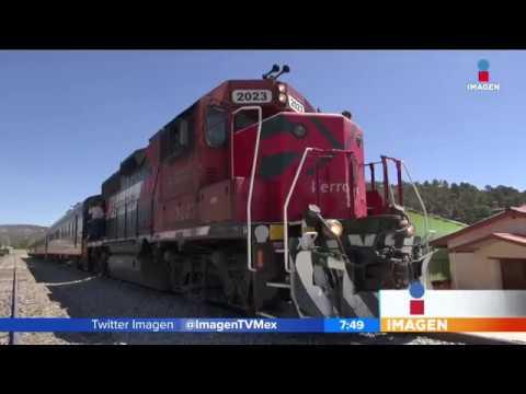 El Chepe, el último tren de pasajeros en México, esta es su ruta | Noticias con Francisco Zea