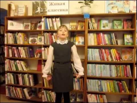 Изображение предпросмотра прочтения – АнастасияПортнягина читает произведение «Что делать с Алексеем?» А.Л.Барто