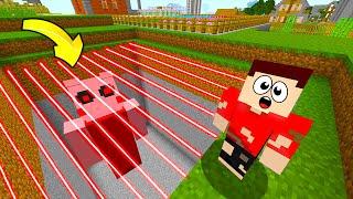 FAKİR VS KORKUNÇ PIGGY HAPİSHANESİ! - Minecraft