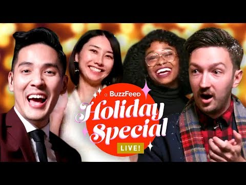 BuzzFeed Holiday Special Live Stream