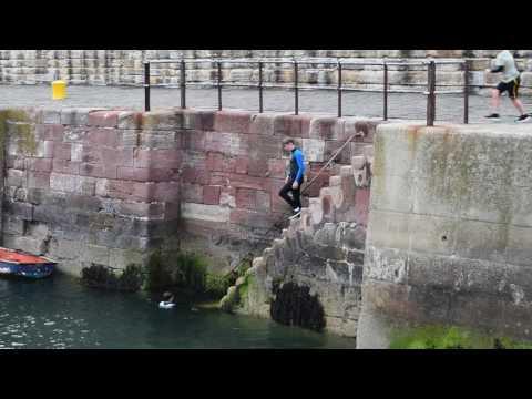 Dunbar Harbour Jumping V