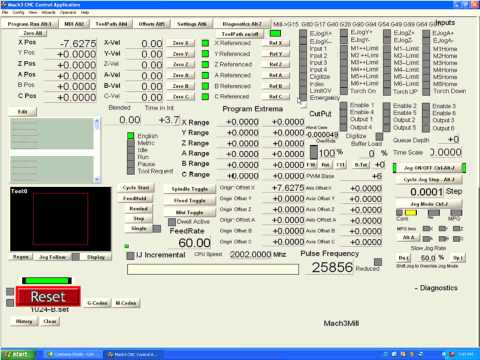 Mach3 Installation and Basic Configuration