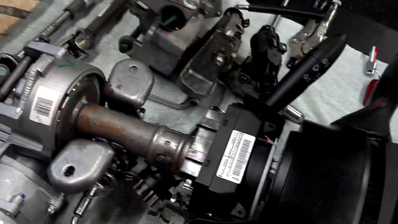 Fiat 500 Power Steering, Steering Wheel Airbag Removal