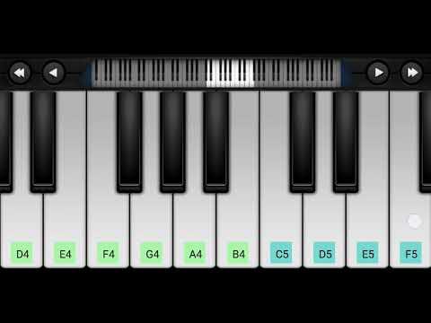 Mile Ho Tum Humko (Neha Kakkar) - Harmonium Guru Mobile Piano Tutorial