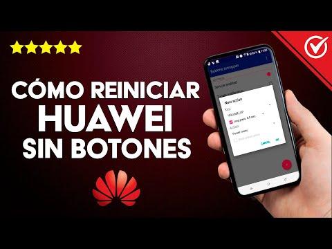 Cómo Reiniciar o Apagar un Celular Huawei sin usar el Botón de Encendido