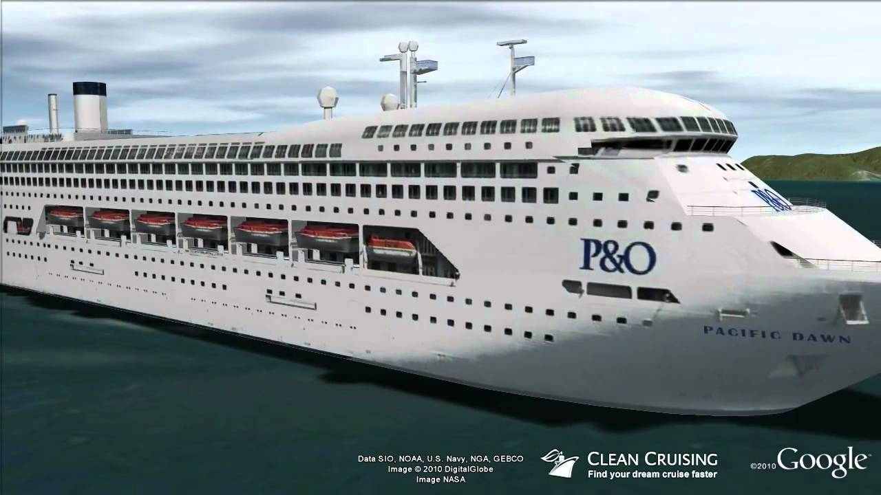 Pacific Dawn Virtual Ship Tour YouTube - Cruise ship dawn