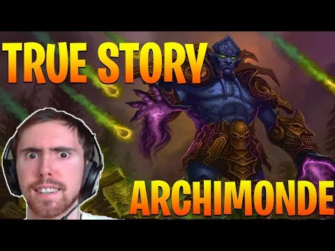 "Asmongold Reacts to ""The True Story of Archimonde!"" by Nixxiom - World of Warcraft"