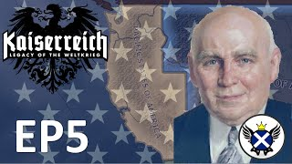 HOI4 Kaiserreich Pacific States of America EP4 - Victory is