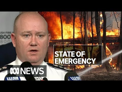 NSW State Of Emergency Declared Ahead Of 'most Dangerous Bushfire Week Ever Seen' | ABC News