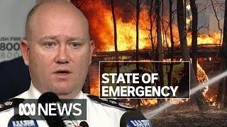 NSW state of emergency declared ahead of 'most dangerous bushfire week ever seen' | ABC News