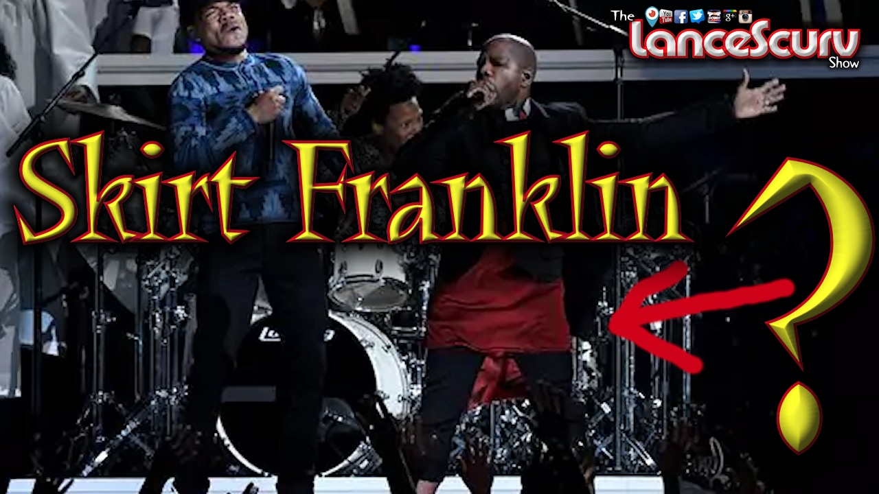 Kirk Franklin Wears Red Dress At Gender Bending Gospel Grammy ...