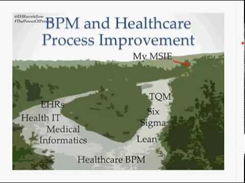 Power of Process: Workflow, BPM, and Healthcare (Chuck Webster, MD)