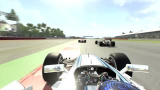 F1 2015: Silverstone Crash - Full Damage - 1080p60 and Ultra Settings