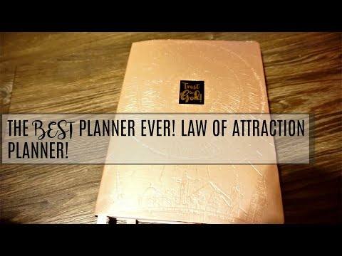 Review of Law of Attraction Planner Best Planner Ever