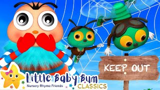 Itsy Bitsy Spider Song | Nursery Rhymes and Kids Songs | Baby Songs | Little Baby Bum