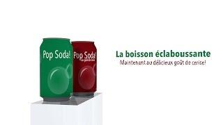 Pop Soda! - Maintenant au délicieux goût de cerise!
