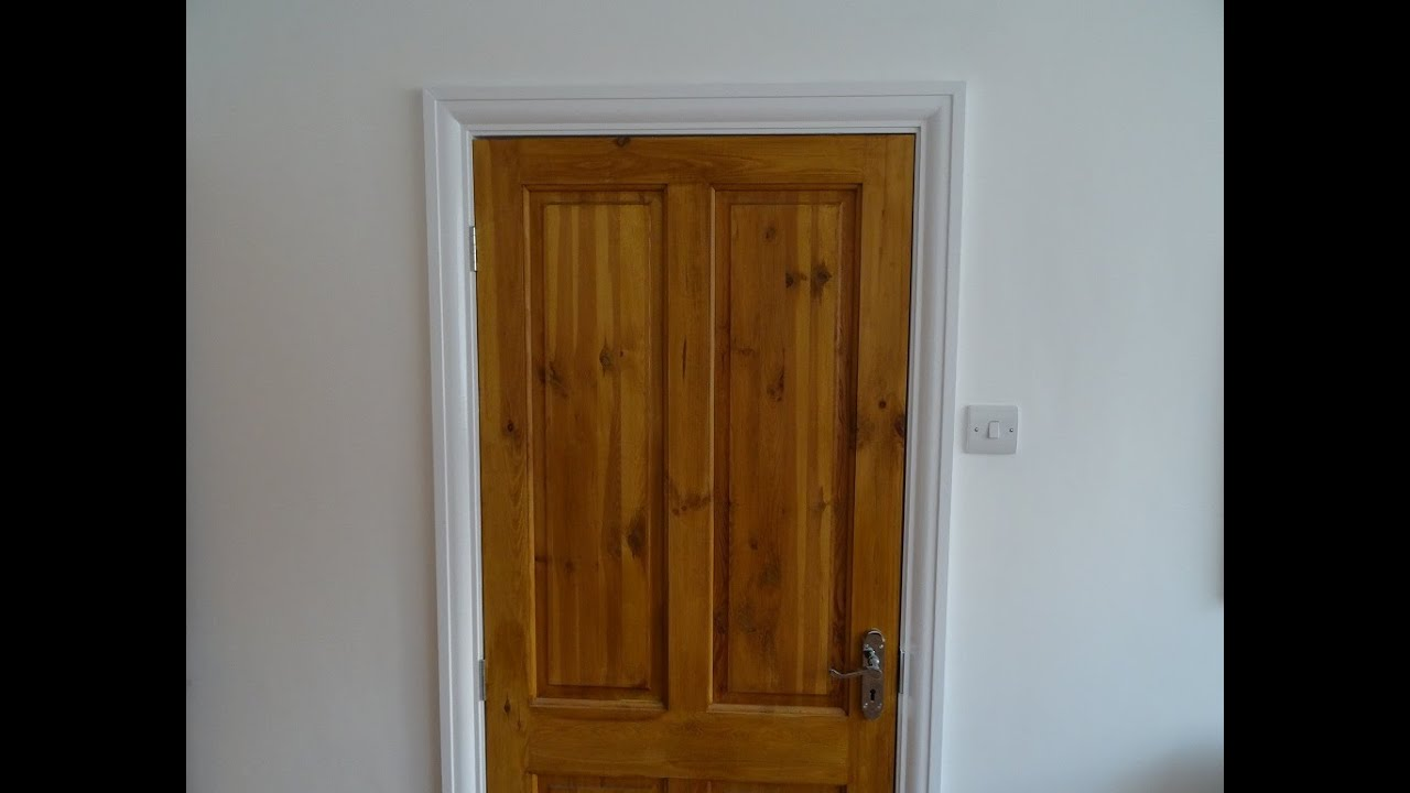 How to makeover renovate an internal door frame casing for Door architrave