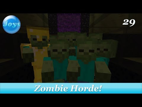 Zombie Fun an Future Plans! - Lets Play Minecraft Amplified Console Edition 29