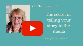 Secret of telling your story to the media