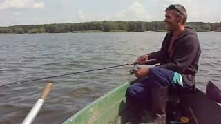 Не забываемая рыбалка на Краснооскольском водохранилище !