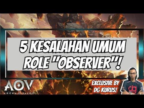 5 Kesalahan UMUM dari OBSERVER by DG KURUS - AOV Indonesia