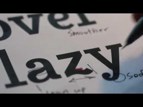Creating a font - Rossum Slab