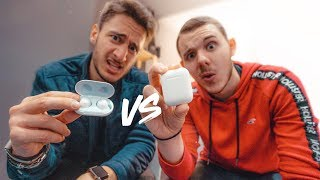 Apple AirPods vs Samsung Galaxy Buds ! feat. TheiCollection, Monsieur GRrr...