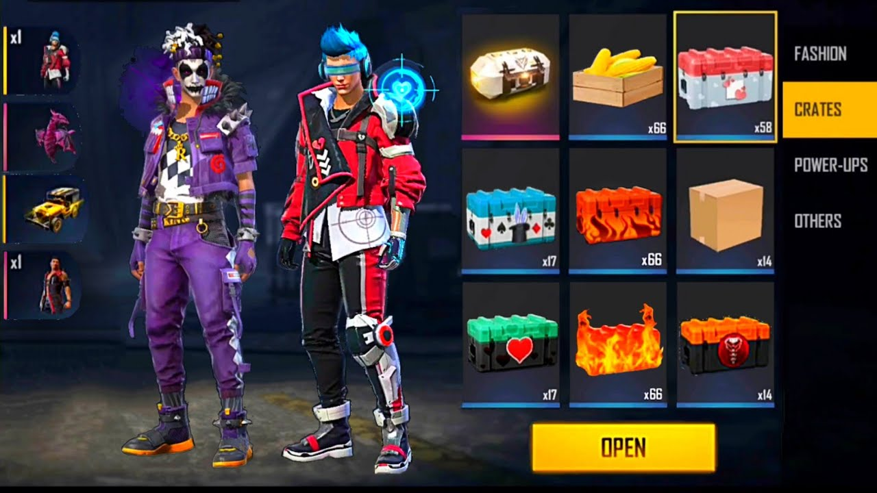 Download OPEN THE BEST BOXES 📦 THE BEST LUCK 😱 FREE FIRE