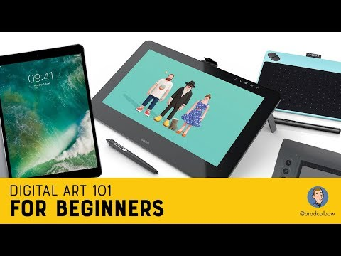 Digital Art 101 For Beginners