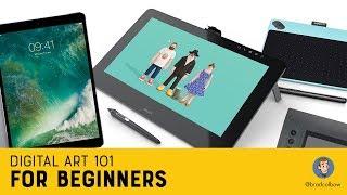 Digital Art 101 For Beginners