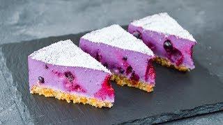 Постный (ВЕГАНСКИЙ) ягодный ЧИЗКЕЙК ☆ Vegan berry CHEESECAKE