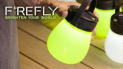 Firefly™ Portable Silicone Solar Lanterns from Evergreen Garden (Sept 2016 Update)