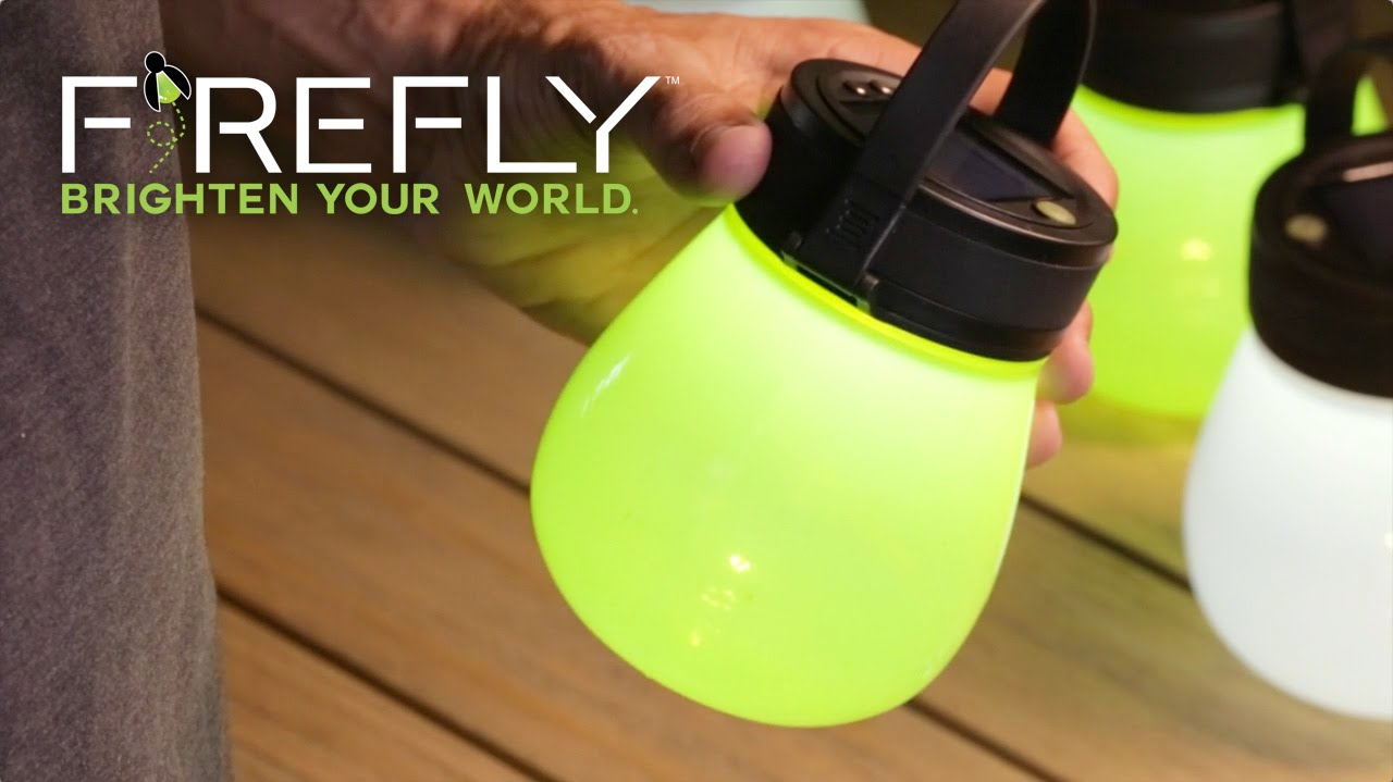 Firefly Portable Silicone Solar Lanterns From Evergreen Garden Sept 2016 Update