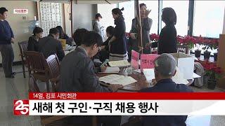 김포서 14일 새해 첫 구인·구직 채용 행사