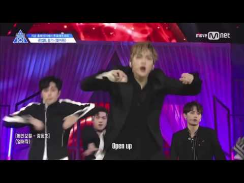 [ENG] PRODUCE 101 S2 - Open Up/열어줘 (Knock) w/o screaming