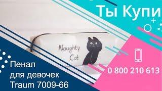 Пенал для девочек Traum 7009-66 купить в Украине. Обзор