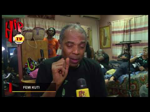 """PEOPLE ARE JOINING MUSIC FOR THE WRONG REASONS""- FEMI KUTI"