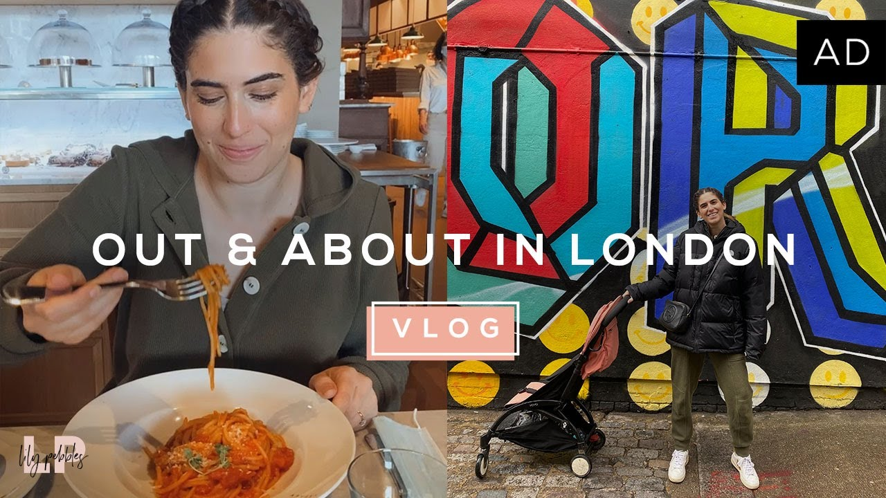 VISITING EATALY LONDON & A HOME HAUL | Lily Pebbles