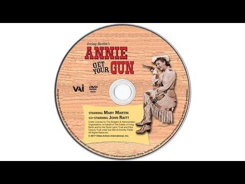 ANNIE GET YOUR GUN  Mary Martin, John Raitt 1957