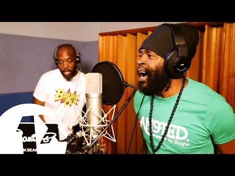 1Xtra in Jamaica - Bugle freestyle at Big Yard studios