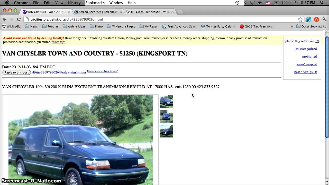 Marvelous Craigslist Bristol Tennessee Used Cars, Trucks And Vans   For Sale By Owner  Deals Under $10,000   YouTube