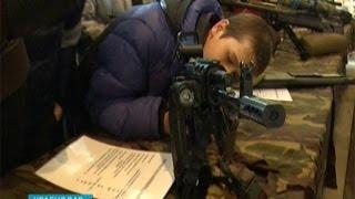 В Краснодаре проходит выставка оружия