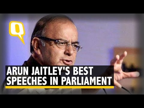 How Jaitley Countered UPA govt in RS: Here are his Best Speeches | The Quint