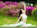Yoga with beautiful girls