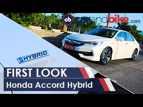New Honda Accord Hybrid First Look - NDTV CarAndBike