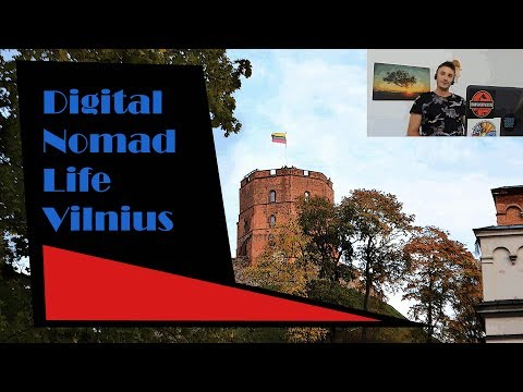 Digital Nomad and Expat Life: Vilnius, Lithuania! (Best cheap European city)