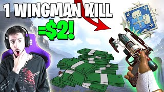 I Made $2 EVERY Wingman Elimination I got In ONE GAME! (Apex Legends)