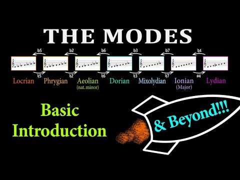 THE MODES: a Basic Introduction with a Crazy Continuation...